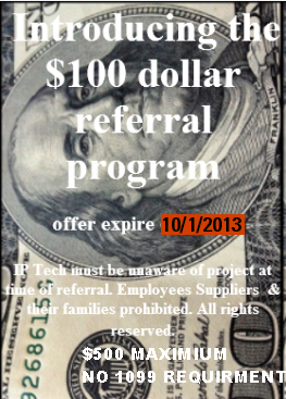 $100 REFERRAL PROGRAM