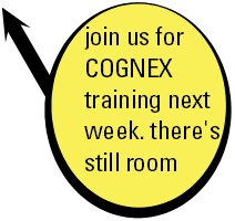 Cognex Traing...there's still room